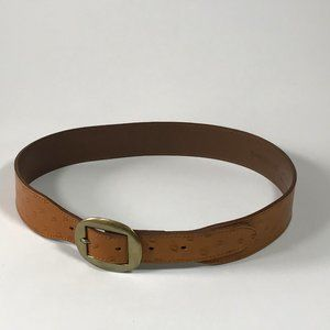 Banana Republic All Leather Belt Made in England